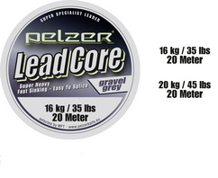 Повод Pelzer Lead-Core-Gravel-Grey+Tool 031910-1